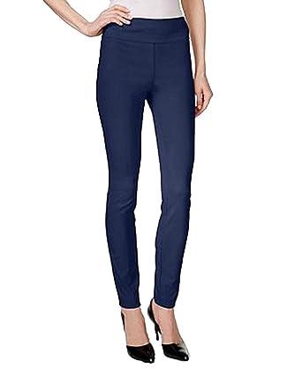 98e15810b7 Style & Co. Tummy-Control Leggings (Industrial Blue, Small)