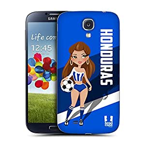Head Case Designs Honduras Football Pin-ups Replacement Battery Back Cover for Samsung Galaxy S4 I9500
