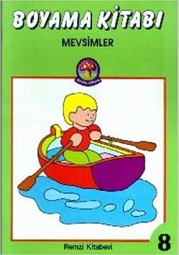 Boyama Mevsimler 9789751401021 Amazoncom Books
