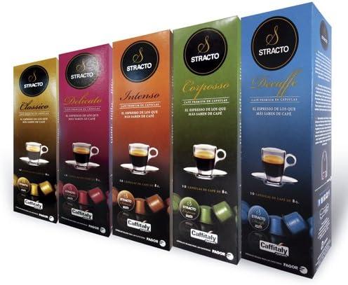 Stracto Classico Cápsulas De Café - 90 gr: Amazon.es: Alimentación ...