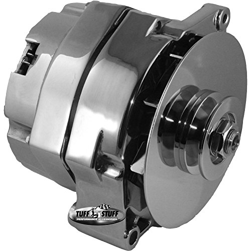 Tuff Stuff 7102NC Chrome 100 Amp Alternator for GM