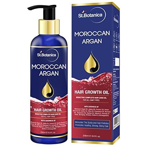 Stbotanica Moroccan Argan Hair Growth Oil With Jojoba Almon