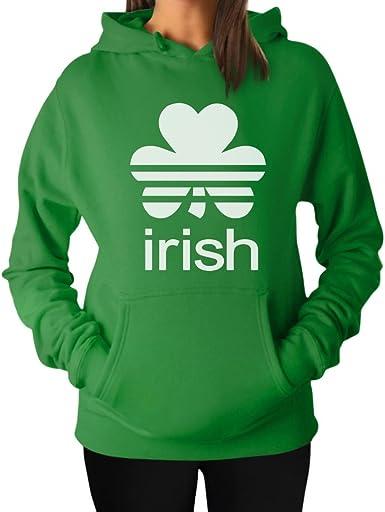 Clover Shamrock St Patricks Day Irish Ireland Lucky Charm Long Sleeve Thermal