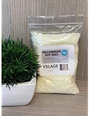 Village Craft & Candle - Millennium Soy Wax - Bag of Natural Soy Wax for Candle Making