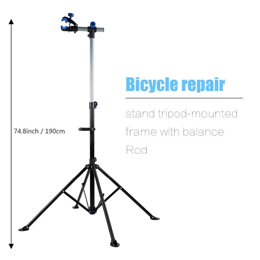 GNSDA Soporte para Taller de reparación de Bicicletas, Bastidor de ...