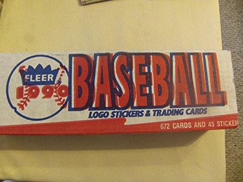 1990 Fleer Baseball Complete FACTORY SET 660 Cards FACTORY SEALED!