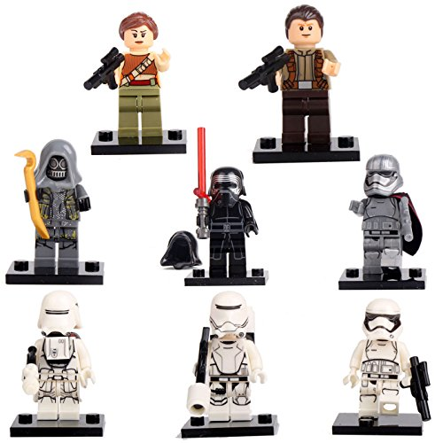 [Kylo Ren Rey 8 Minifigures building bricks Toys lEGO] (Hulk Classic Infant Costumes)