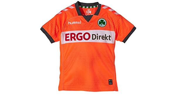 Hummel Furth Short Sleeve Third Jersey - Camiseta de fútbol para niño naranja Shocking orange Talla:12 (152): Amazon.es: Deportes y aire libre