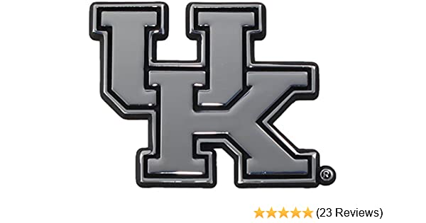 Kentucky Wildcats  Premier Chrome Metal Auto Emblem