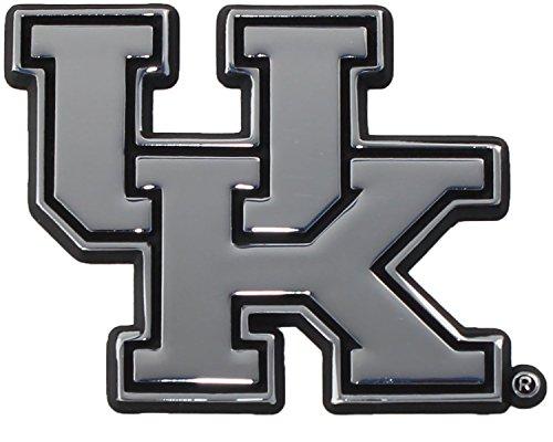 (Kentucky Wildcats  Premier Chrome Metal Auto Emblem)