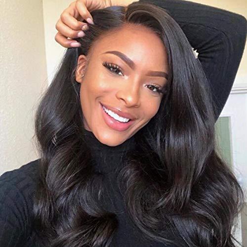 Gabrielle Weave Hair (16 18 20 22) Body Wave Brazilian Hair 4 Bundles 100% Unprocessed Brazilian Virgin Human Hair Bundles Hair Weave Natural Color Hair Brazilian