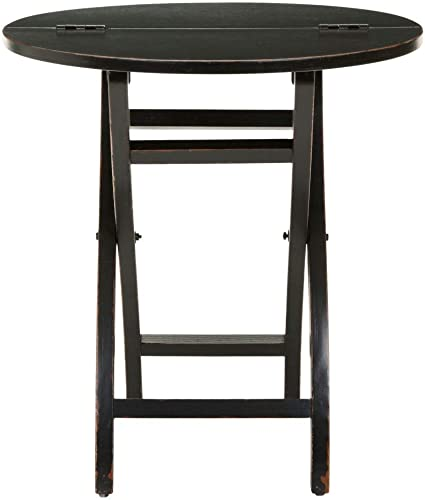 Safavieh American Homes Collection Ethan Black Side Table