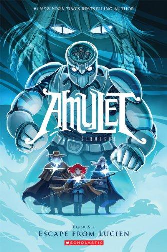 Amulet Box - Escape From Lucien (Amulet #6)