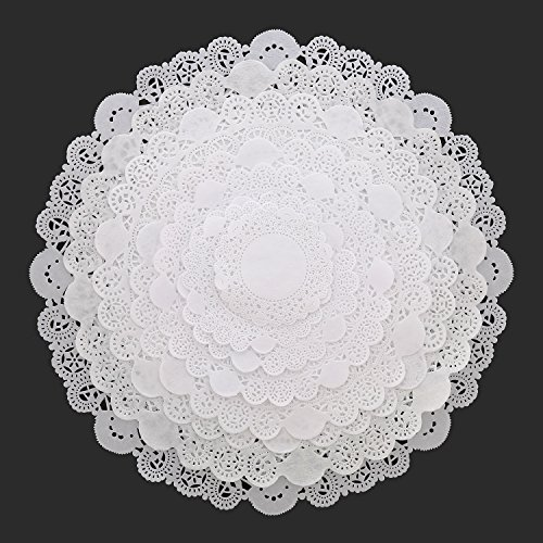 Royal 6'' Disposable Paper Lace Doilies, Package 1000 by Royal (Image #5)