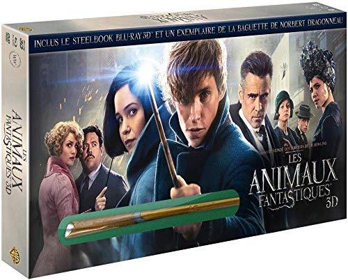 Animales fantásticos y dónde encontrarlos / Fantastic Beasts and Where to Find Them 3D & 2D plus Magic Wand Blu-Ray & DVD Combo Blu-Ray: Amazon.es: Samantha Morton, Dan Hedaya, Ron Perlman, Eddie