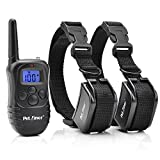 Petrainer IS-PET998DR2 330 yd Remote Dog Training E-Collar, 7.67 by 1.88 by 5.9""