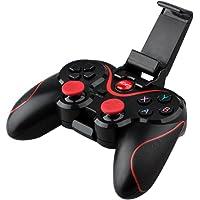 Control Bluetooth Gamepad Android Bluetooth Gamepad, joysticks Wireless Game Controller, juego de vídeo Soporte para PC, computadora portátil, teléfono inteligente, Tablet, TV, BOX con Android 3.2 o superior