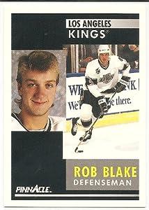 Rob Blake 1991-92 Pinnacle Los Angeles Kings Card #201
