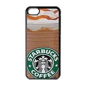 iphone5c Case (TPU),iphone5c Cell phone case Black for starbucks - KKHG5344155