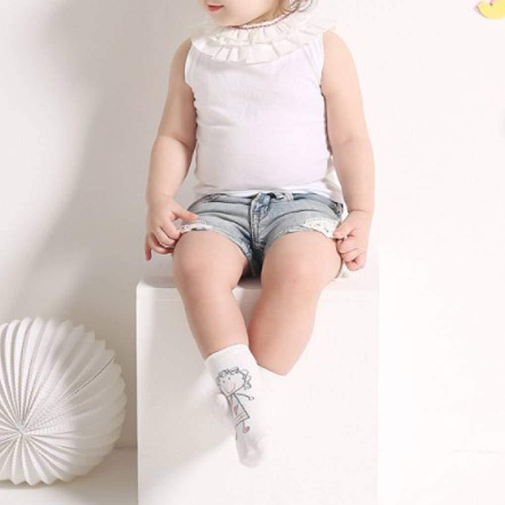 Cute Pattern Cartoon Children Socks Summer Thin Anklet Baby Combed Cotton Non Slip Hosiery