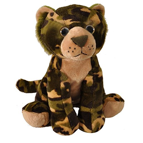 Green Camo Tiger 12 inch - Stuffed Animal by The Petting ...