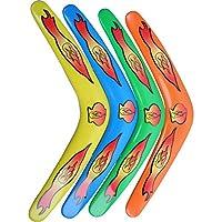 Bumerang Boomerang 4 Stück ca. 30 cm Spielzeug für draußen