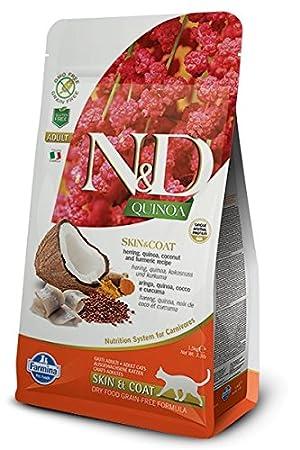 Farmina - Farmina N&D Pescado y Quinoa Cat Skin & Coat Grain Free - 2338 -