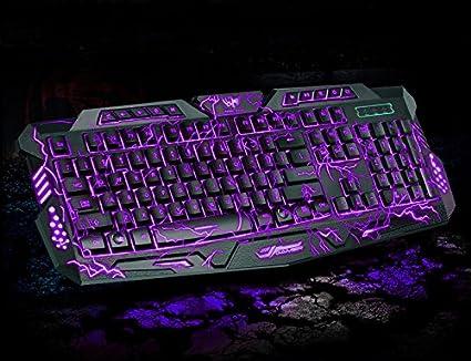 couleur ordinateur violet clavier