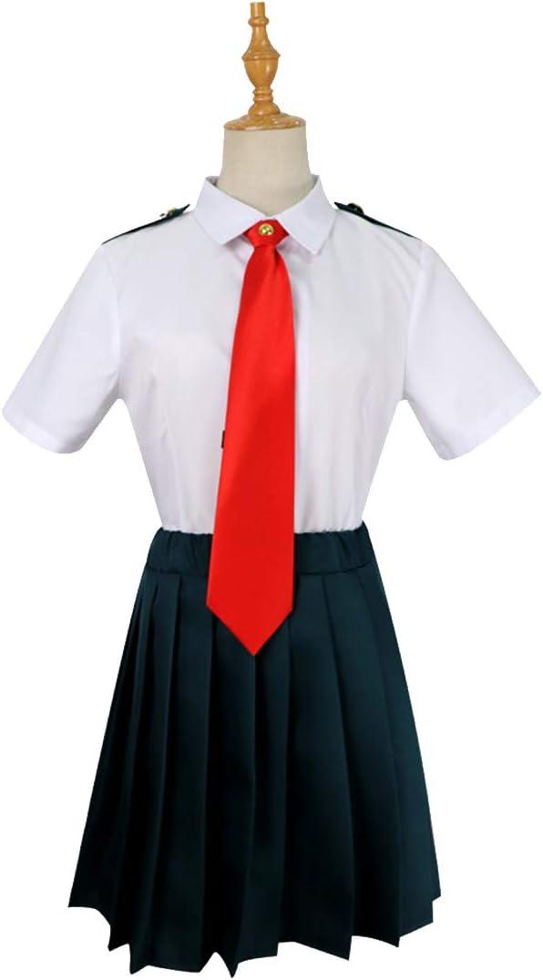 ZY Juego De Anime Disfrazado Camisa Blanca Falda Anime Halloween Carnaval Uniforme Escolar Uniforme Escolar Conjunto Completo,Full Set-XL: Amazon.es: Hogar