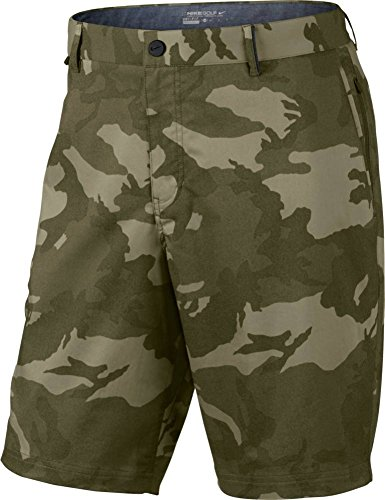 Cargo Shorts Medium Camo - Nike Mens Modern Fit Print Short - 30 - Cargo Khaki/Medium Olive