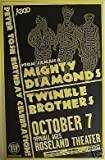 #3: Mighty Diamonds Twinkle Brothers Reggae Concert Poster