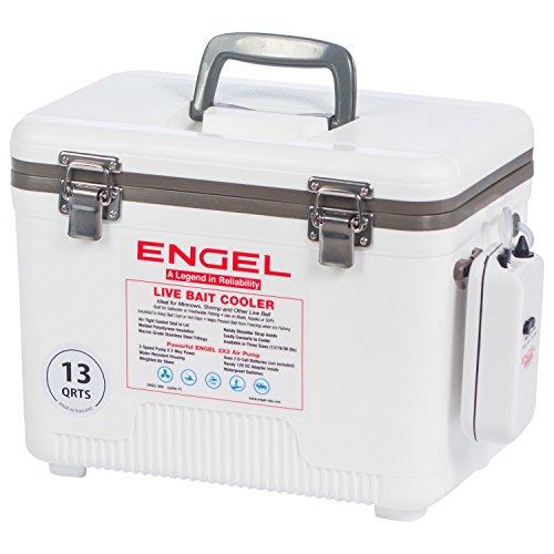 Engel Hard-Sided Coolers Englbc13-N 13 Qt Live Bait -