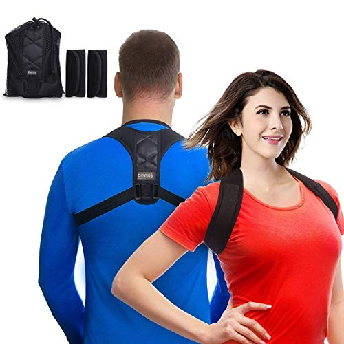Andego Back Posture Corrector Clavicle Support Brace for Women & Men Designed for Your Upper Back, Helps to Improve Posture, Prevent Slouching and Upper Back Pain Relief
