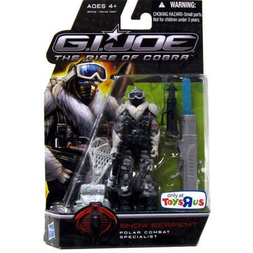 G.I. Joe The Rise of Cobra 3 3/4 Inch Action Figure Exclusive Snow Serpent