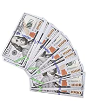 Play Fake Money Printed 2 Sides, Prop Money 240 pcs, Ancestor Money for Funeral or Tomb-Sweeping Day, Heaven Bank Notes,Ghost Money, Bring The Good Luck Wealth and Health, Casino Games Money (240)