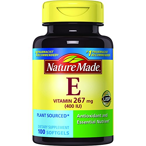 Nature Made Vitamin E 400 I.U. Softgels 100 Softgels (Pack of 3)