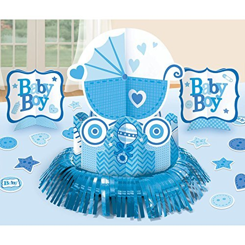 Amscan Sweet Birthday Girl 1st Birthday Table Decorating (Baby Rattle Confetti)