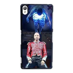 Sony Xperia Z3 Cell Phone Case Black DJ Bobo ST1YL6768657