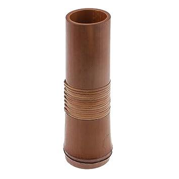 Perfk Tisch Blumenvase Pflanztopf Bambus Holz Design Handgearbeitet