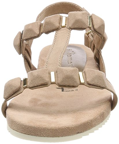 Women''s Beige nude Sandals Back 251 28611 Sling Tamaris aAxqd8w8
