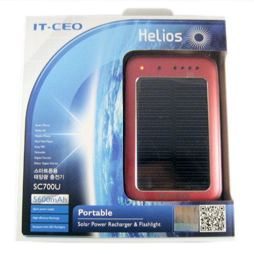 Solar D Cell Battery Charger - 8