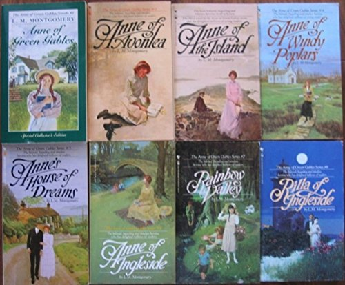 Anne Shirley Complete 8-Book Series : Anne of Green Gables; Anne of the Island; Anne of Avonlea; Anne of Windy Poplar; Anne's House of ... Ingleside; Rainbow Valley; Rilla of Ingleside by [Montgomery, Lucy Maud]