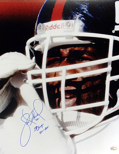Leonard Marshall Signed 16 x 20 Photograph New York Giants Super Bowl Champs XXI XXV Super Bowl - Certified Genuine Autograph By PSA/DNA - Autographed Football Photograph ()