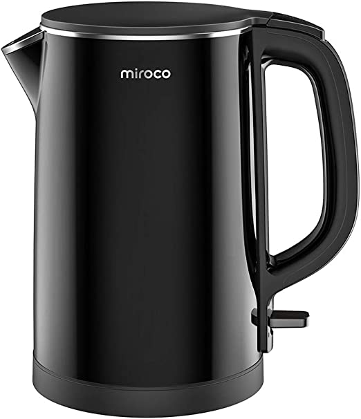 Amazon.com: Electric Kettle, Miroco 1.5L Double Wall 100 ...