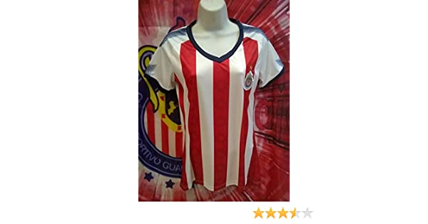 Amazon.com : New! Club Guadalajara Chivas Replica Woman Jersey : Sports & Outdoors