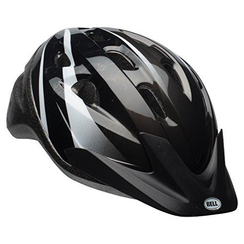 Black Kids Helmet - Bell Richter Bike Helmet - Black & White