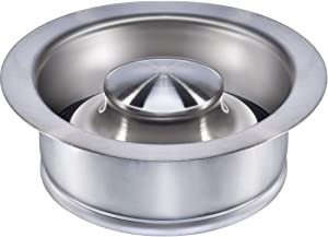 Kitchen Sink Flange Stopper Stainless Steel - Universal Garbage Disposal Plug for Fit 3-1/2 Inch Standard Sink Drain Hole, Sink Flange Replacement Accessories