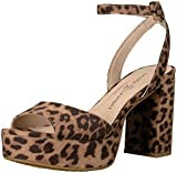 Chinese Laundry Women's Theresa Heeled Sandal, Natural Leopard, 7.5 M US