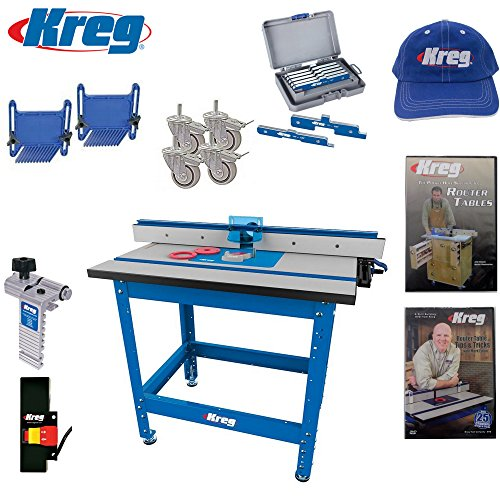 Kreg PRS1045 Precision Router Table Built in Micro Adjuster
