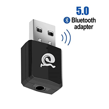 7d386a959eb Jialebi Bluetooth 5.0 Transmitter and Receiver 2-in-1,Bluetooth Transmitter  for TV. Roll over image to zoom in